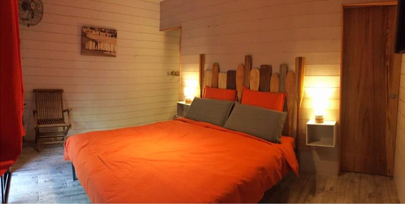 au bois flott chambres d 39 h tes hourtin. Black Bedroom Furniture Sets. Home Design Ideas
