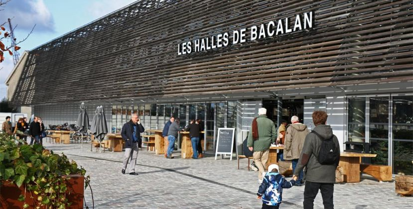 Grab your plate: eating in the halles de bacalan
