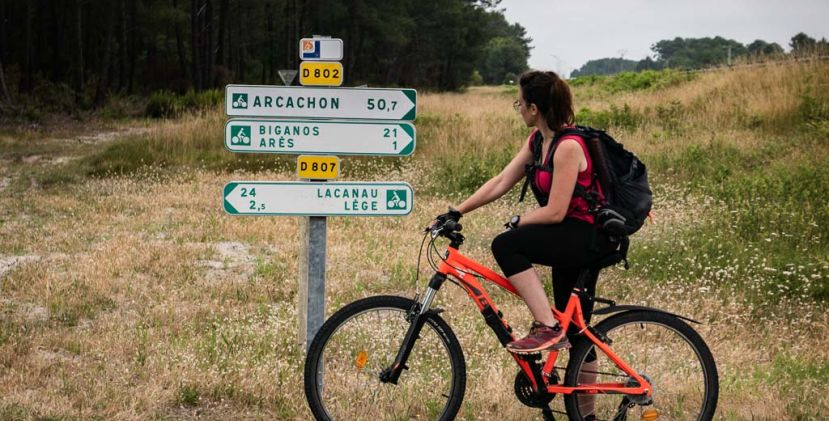 Arcachon Bassin cycling tour