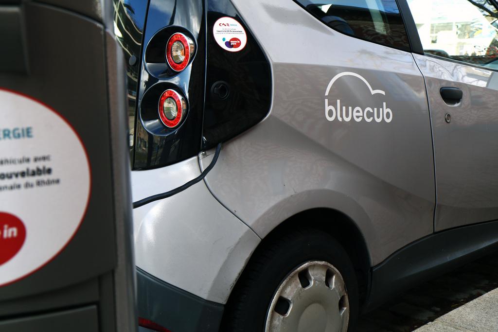 BlueCar de Bordeaux
