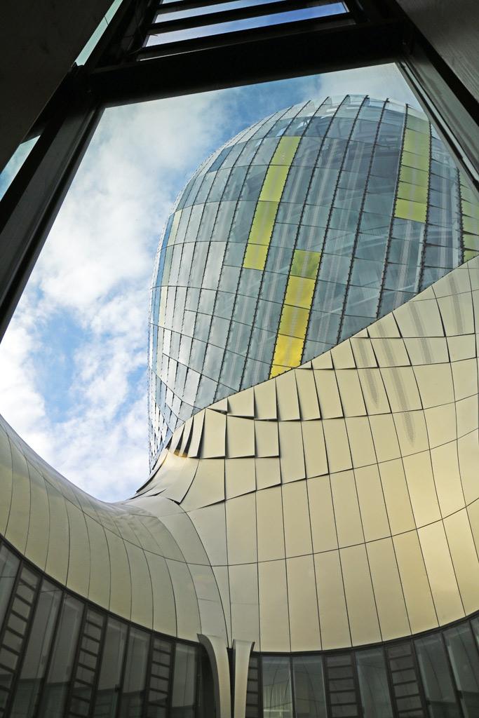 Une architecture singulière et organique