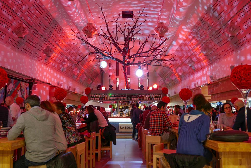 Le Bar Central, la Boca Foodcourt