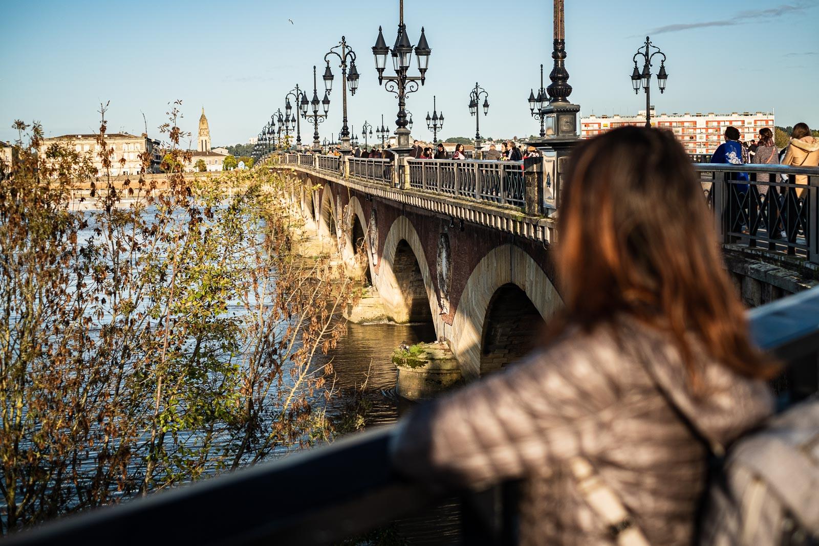 Balade tour des ponts de Bordeaux