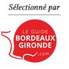 Selectionné par le Guide Bordeaux Gironde
